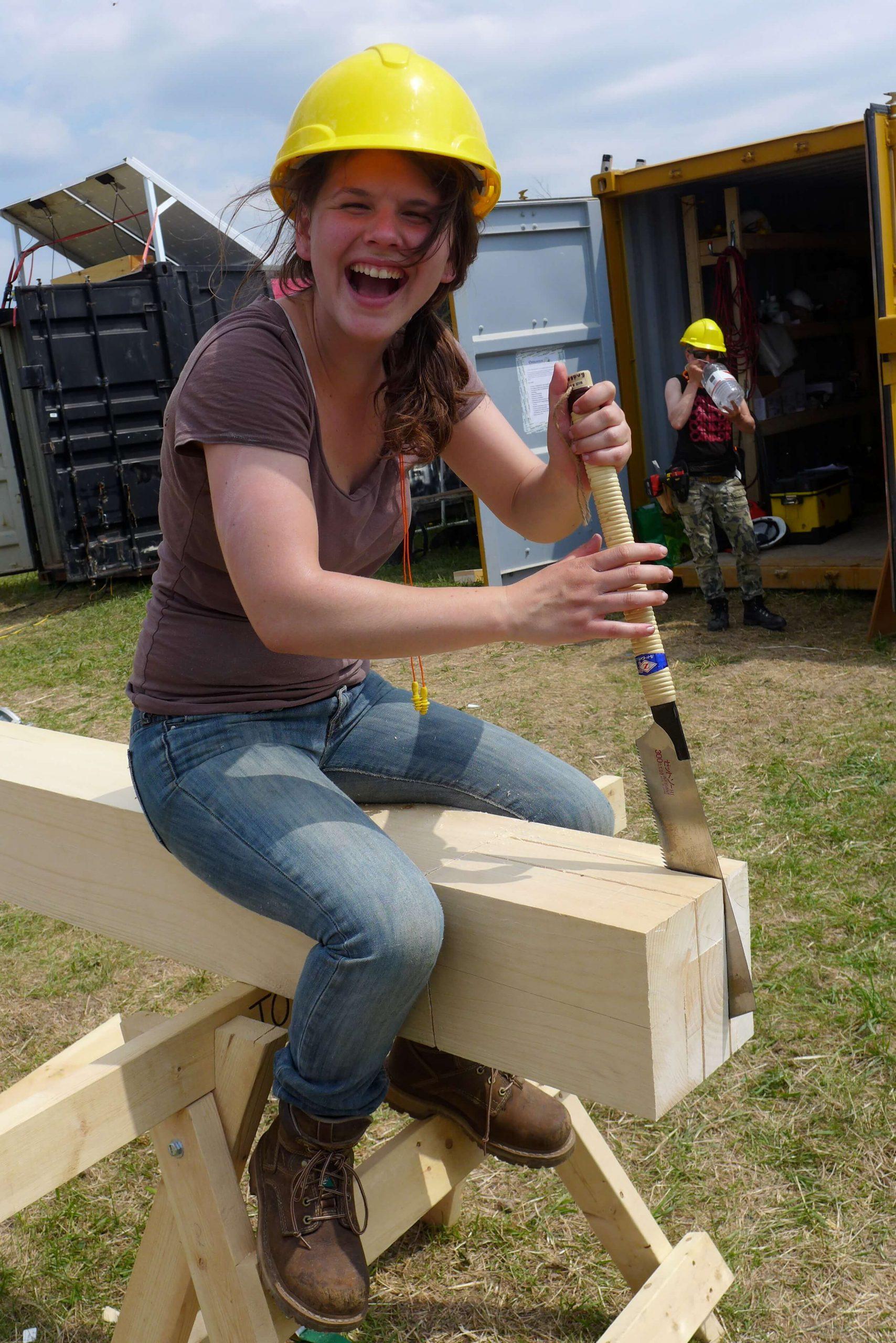Timber frame for teachers' union