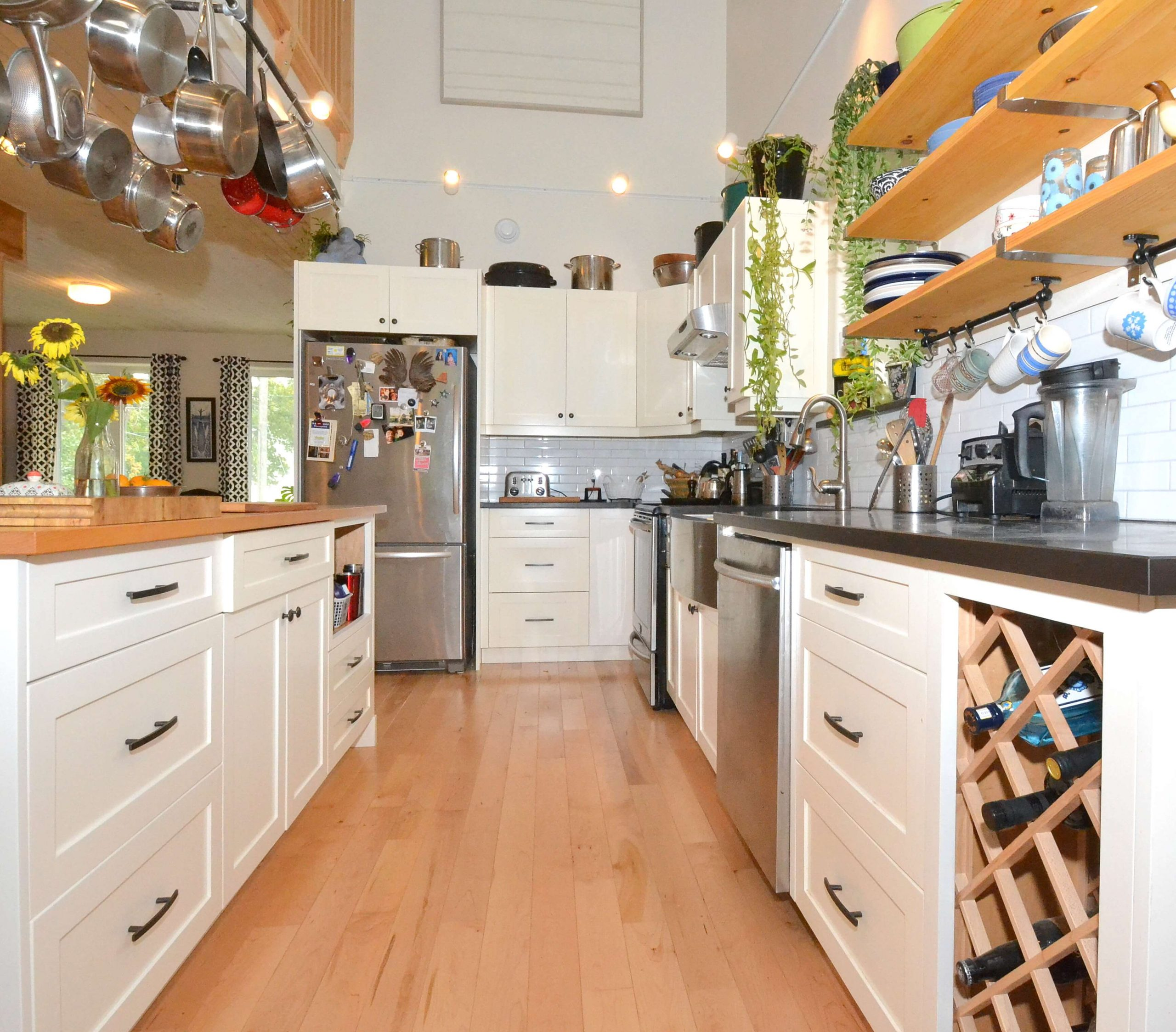 Paperstone countertops at Canada's Greenest Home