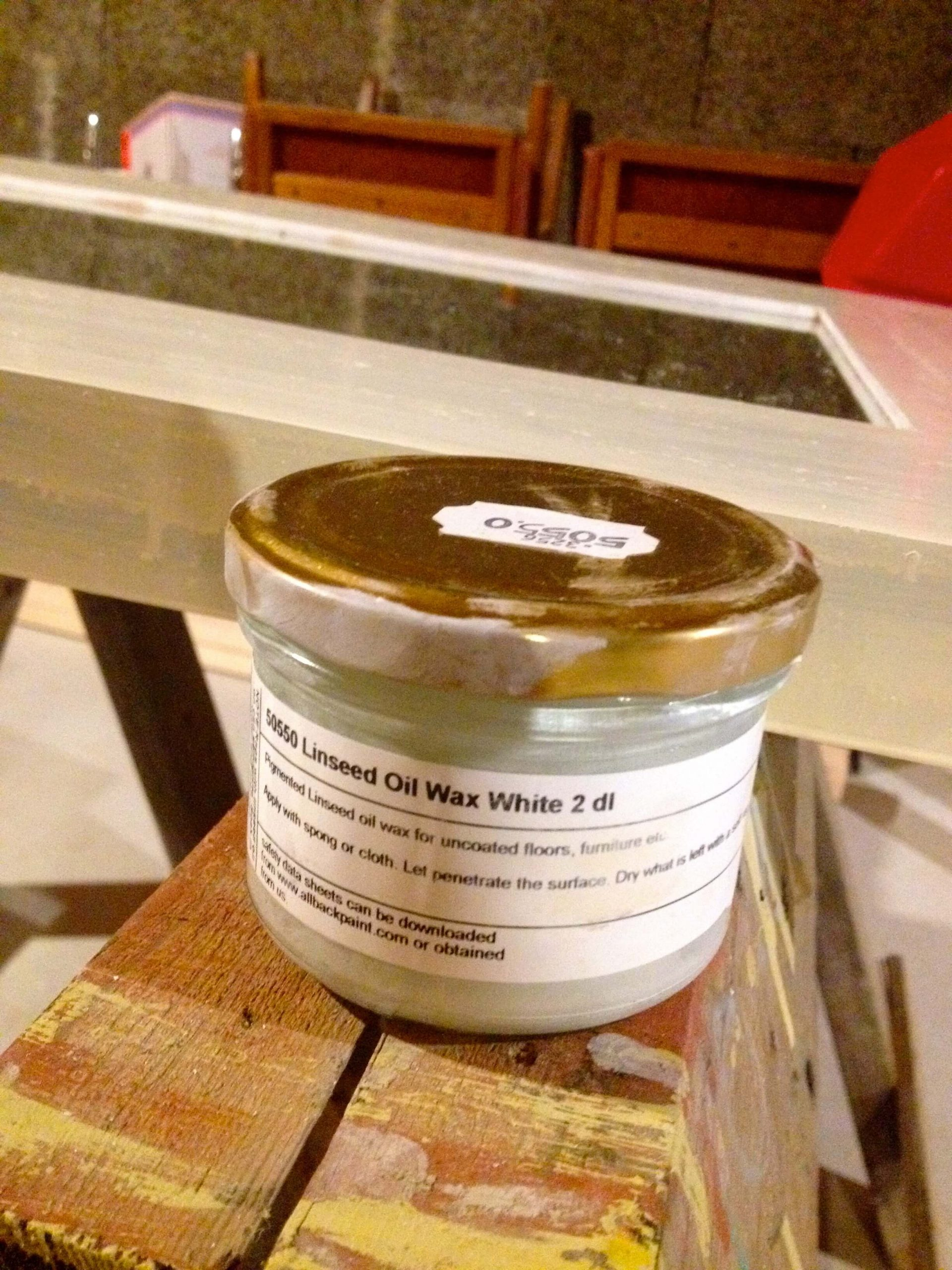 Product Review: Allback Linseed Stain Wax