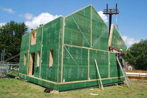 Prefabricated panel home