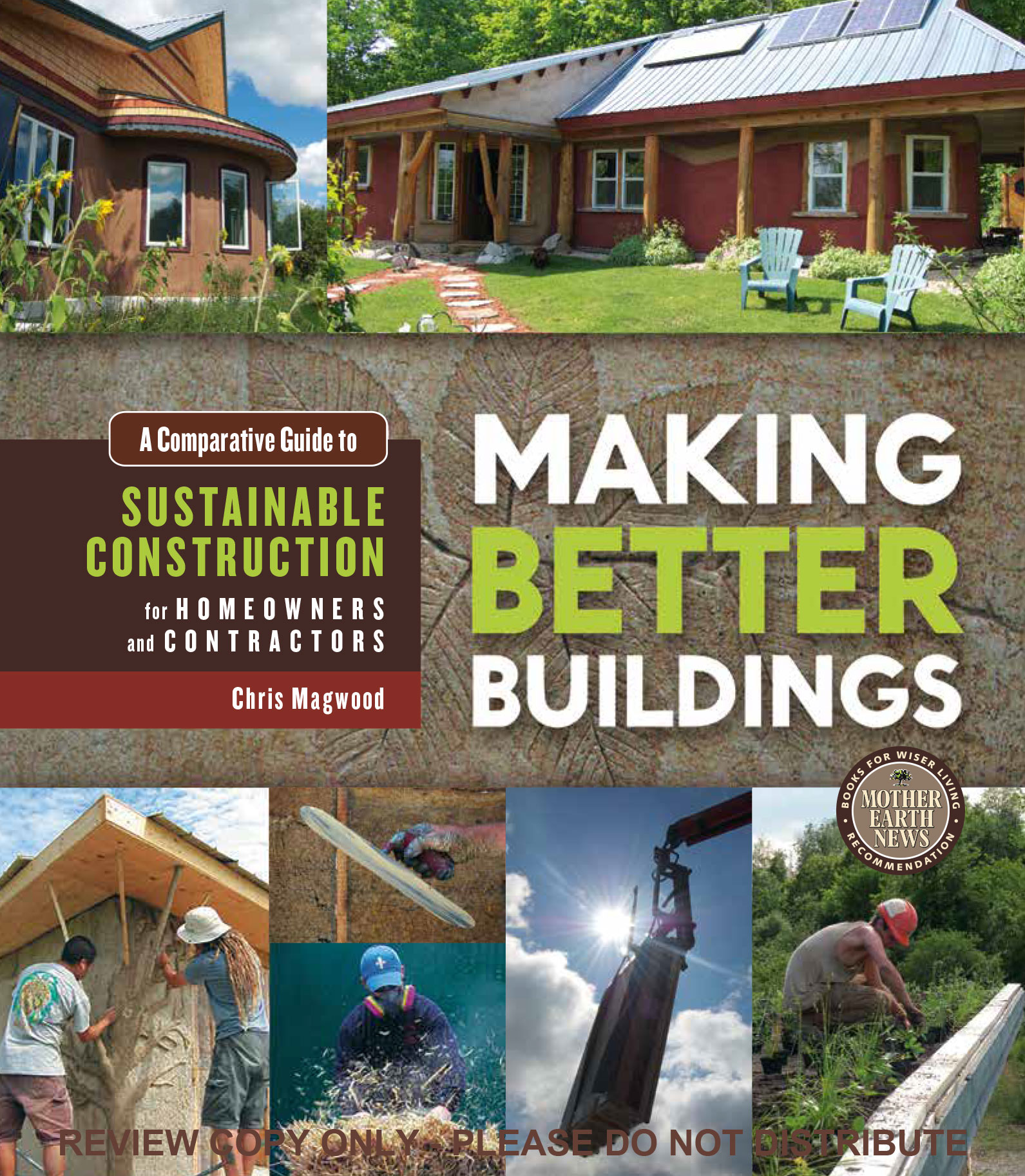 Cover of Making Better Building Book