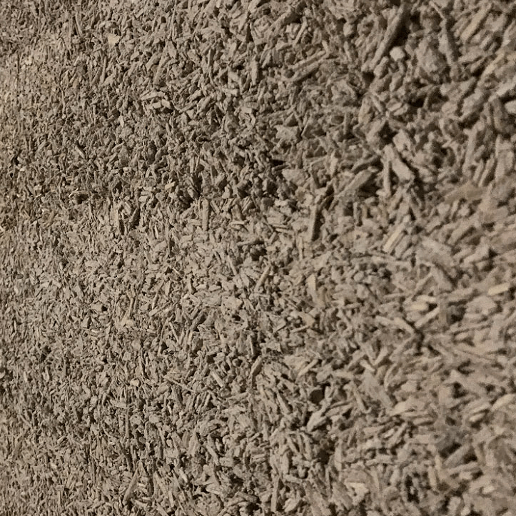 A textured brown wall