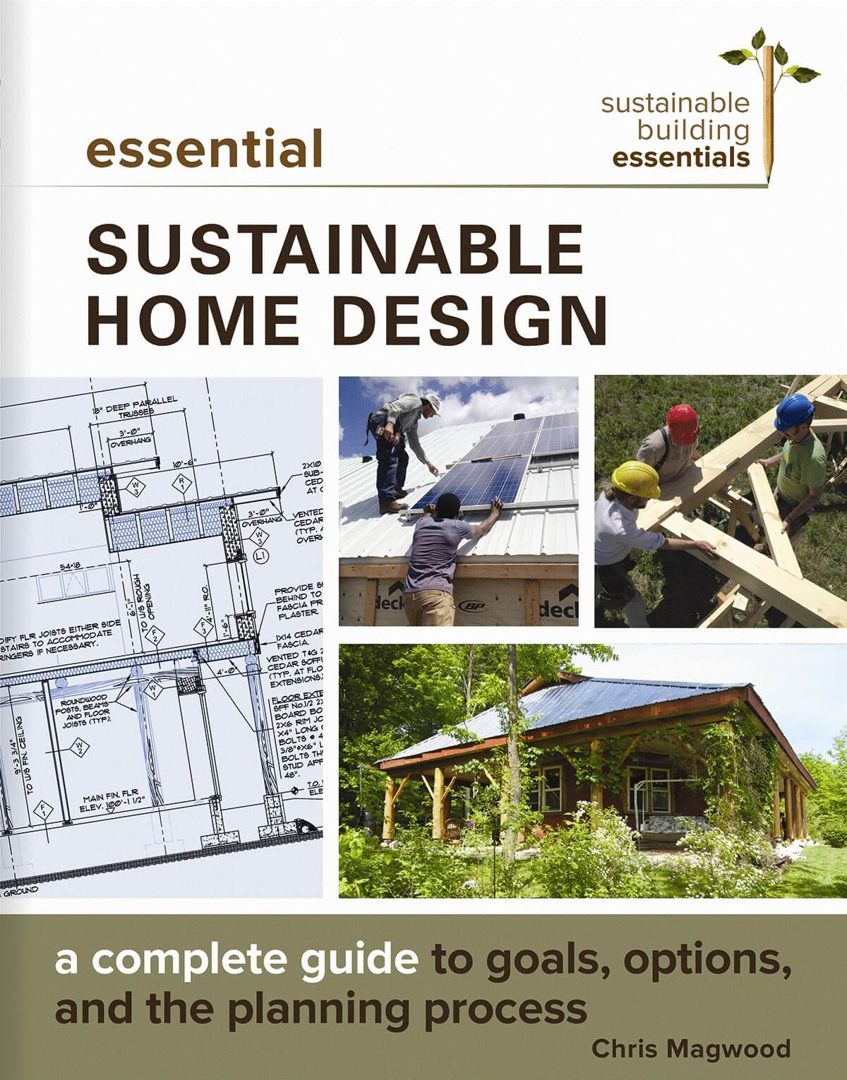 "Book cover for ""Essential Sustainable Home Design."""