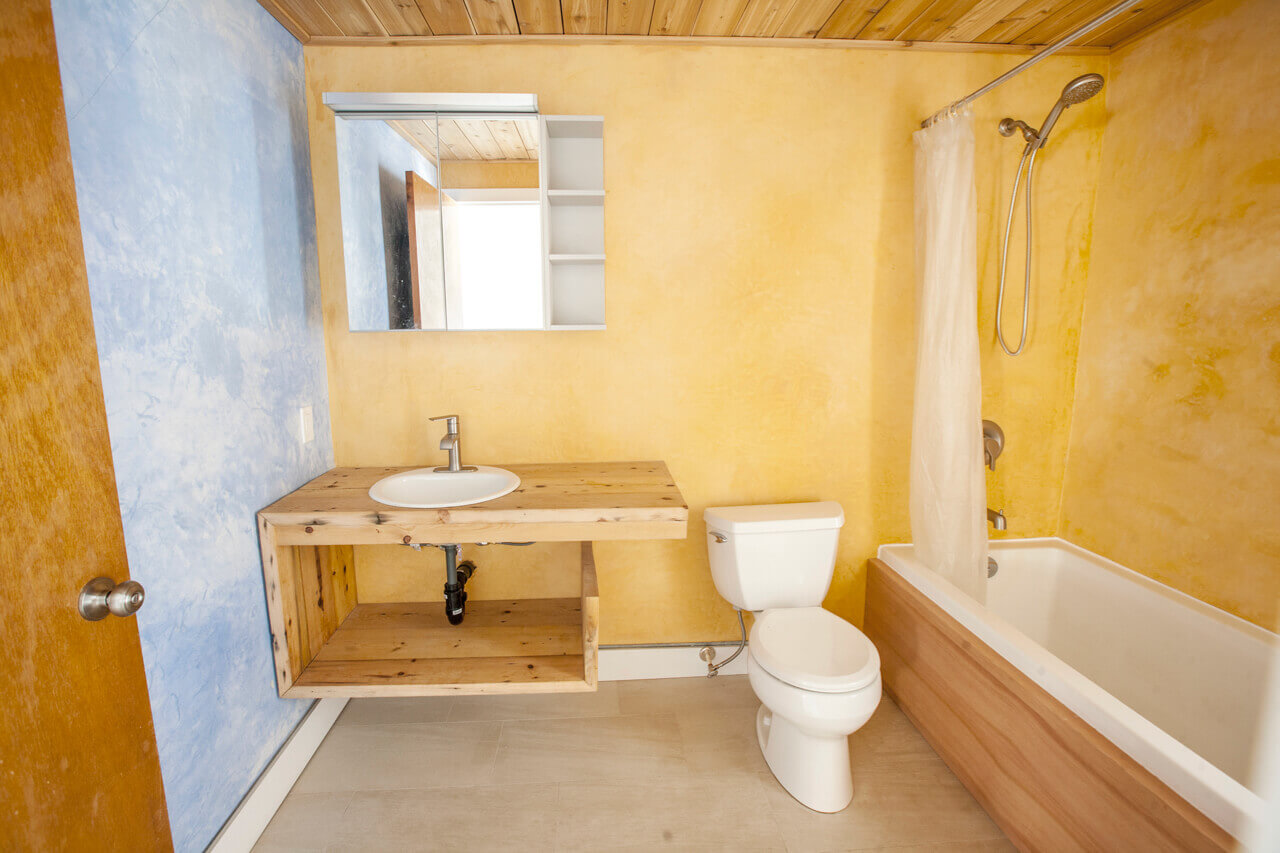 Picture of renovated bathrooom