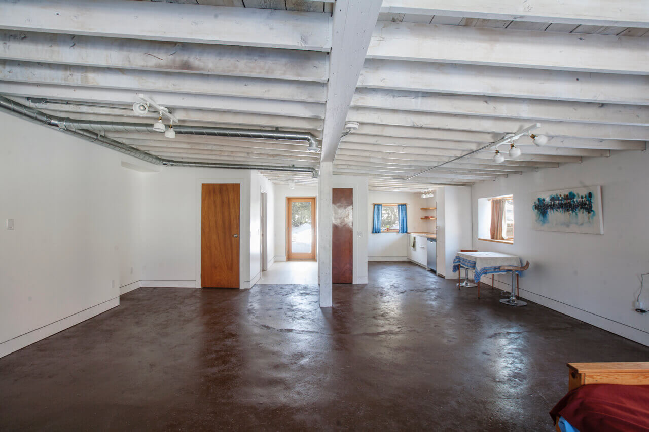 picture of renovated living space