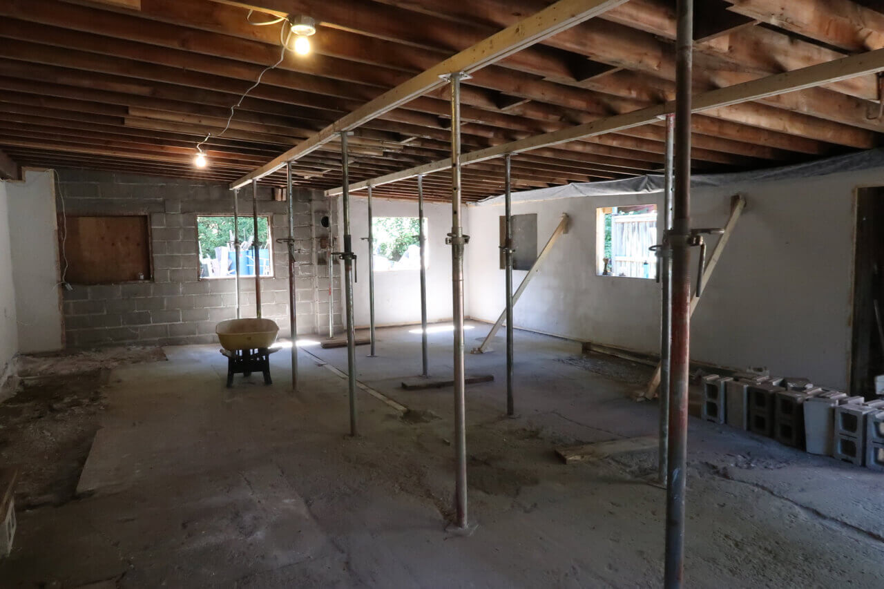 picture of renovation process