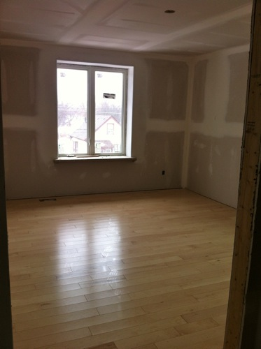 FSC certified hardwood flooring installation