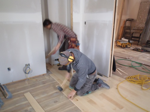 FSC certified hardwood flooring at Canada's Greenest Home